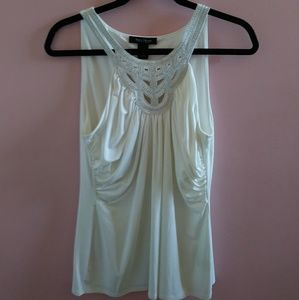 NWOT WHBM Ruched Tank Top M
